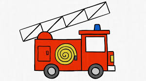 100 Fire Truck Drawing How To Draw A FIRE TRUCK YouTube