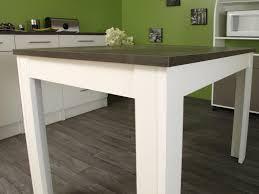 table rectangulaire de cuisine s duisant table de cuisine blanche rectangulaire contemporaine b