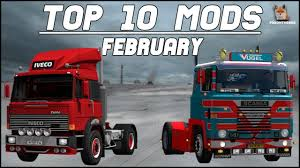 TOP 10 ETS2 Mods February 2018 | Euro Truck Simulator 2 (ETS2 1.30 ...