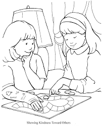Jesus Has Power To Heal Coloring Page