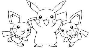 Picachu Coloring Pages K2355 Bonanza Page Free Info Pokemon Pikachu