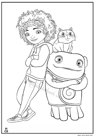 Home Cartoon Free Printable Coloring Pages 11