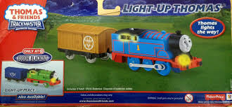 Thomas And Friends Tidmouth Sheds Trackmaster by Image Trackmaster Fisher Price Light Upthomasboxback Jpg