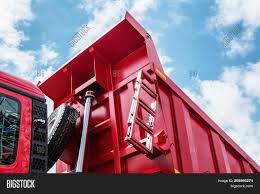 Raised Body Red Dump Image & Photo (Free Trial) | Bigstock
