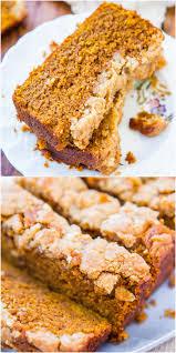 Panera Bread Pumpkin Muffin Nutrition Facts by Soft Vegan Pumpkin Bread With Brown Sugar Streusel Crust Averie