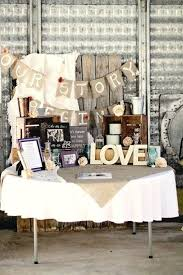 Burlap Decorations For Wedding Rustic Barn Table Decor With