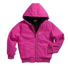 girls u0027 girls u0027 wildwood jacket cp9499 carhartt