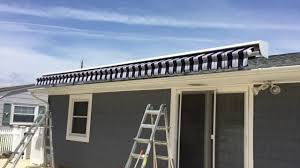 Large Roof Mounted Retractable Awning Installation Lavallette NJ ... Awning Fabric Removal U Installation Replacing Installing Miami Company News Events Awnings Canopies Cabanas North Andover Ma Twomey Legare Cassopolis Mi Itallations Sun And Shade For Advaning S Series Manual Retractable Patio Deck Awning Bellevue Retractable Gallery Assc Soffit Mounted Eastern Sunflex Kreiders Installed In Pittsfield Metal Sondrinicom Sunesta Patio Innovative Openings Primeline Industries Rectable Maple Ridge Bc Diy Screen Kits With