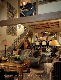 Rustic Lodge Living Room Aspen Colorado