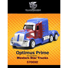 Transformer Optimus Prime 1:32 Western Star Trucks Car Model Die ...