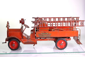 100 Fire Trucks Toys Keystone Packard Chemical Pump Truck Antique For
