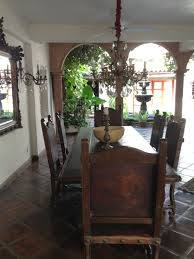 Outdoor Dining Room. Great Chairs! | MI CASA ES SU CASA ... Santa Fe Ding Fniture Santa Fe Corner China Cabinet Zuo Titus Square Table Tables Home 30 Best Restaurants In Mexico City Cond Nast Traveler Antique And Vintage Room Sets 1236 For Sale At 1stdibs Living San Antonio Apgroupecom Top 66 Splendiferous Mexican Rustic Bar Stools Unique Photos 25 Minimalist Rooms Ideas For 85 Decorating Country Decor Interiors House Garden