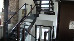 Interior Railings | Ideal Railings Ltd. Glass Stair Rail With Mount Railing Hdware Ot And In Edmton Alberta Railingbalustrade Updating Stairs Railings A Split Level Home Best 25 Stair Railing Ideas On Pinterest Stairs Hand Guard Rails Sf Peninsula The Worlds Catalog Of Ideas Staircase Photo Cavitetrail Philippines Accsories Top Notch Picture Interior Decoration Design Ideal Ltd Awnings Wilson Modern Staircase Decorating Contemporary Dark