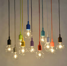 diy colorful edison l color ceiling pendant w vintage