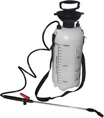 5L WATER PRESSURE SPRAYER GARDEN SPRAY KNAPSACK WEED KILLER