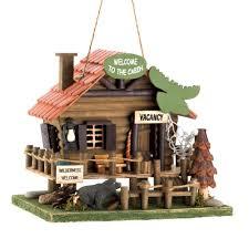 Koehler Home Decor Free Shipping by Amazon Com Koehler 15281 10 25 Inch Woodland Cabin Birdhouse