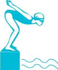 Clip Art Black And White Diver Clipart Swimmer