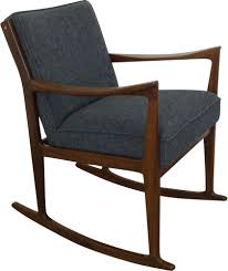 Vintage Danish Rosewood Rocking Chair With Grey Fabric - Design Market Danish Modern Mid Century Rocking Chair By Selig At 1stdibs By Georg Jsen For Kubus Viesso Soren Whosale Chairs Living Room Fniture George Oliver Dominik Wayfair Masaya Co Amador Wayfairca Plastic Black Harmony Belianicz Cado Rocking Chair In Rosewood And Leather Ole Wanscher