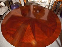 Mahogany Round Dining Table By John Widdicomb For Sale 2