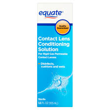Prescription Halloween Contacts Overnight Shipping by Equate Contact Lens Conditioning Solution 4 Fl Oz Walmart Com
