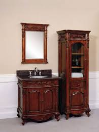 xylem antique bath vanity vintage bathroom set white lights brass