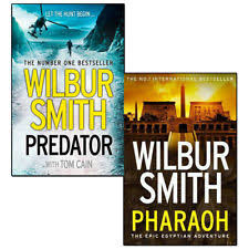Item 3 Predator And PharaohAncient Egypt By Wilbur Smith 2 Books Collection Set NEW