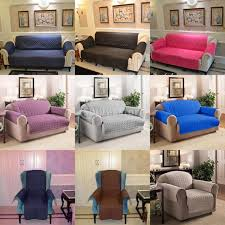 3 Seat Sofa Cover by Various Color 1 2 3 Seater Sofa Arm Chair Settee Protector