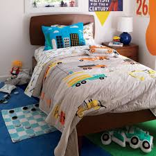 100 Boys Truck Bedding Organic Builders Twin Sheet Set The Land Of Nod Sawyer Bed