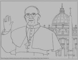 Pope Francis And Basilica Tons Of Other Coloring Pages
