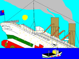 sinking of the hmhs britannic by carsdude on deviantart