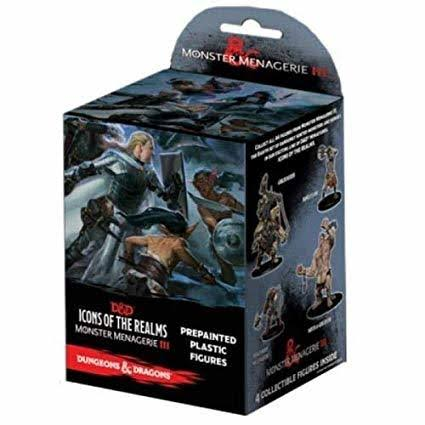 Dungeons Dragons Icons of The Realms Monster Menagerie 3 Booster Pack