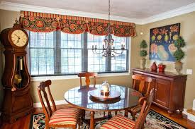 Dining Room Curtain Ideas Full Size Of And Area Curtains Design Bay Window Treatment