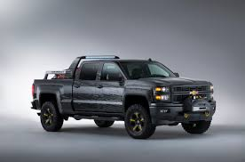 100 Chevy Truck Accessories 2014 Silverado Black Ops Concept Is The Ultimate Survival