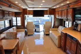 Inside Josh Grants Fancy Motorhome