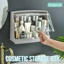 details zu wandmontage makeup aufbewahrung wasserfest kosmetik badezimmer küchen
