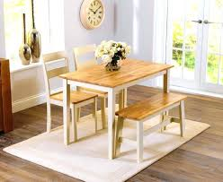 Dining Table Bench Seat Full Size Of Classic Wood Room With Chairs