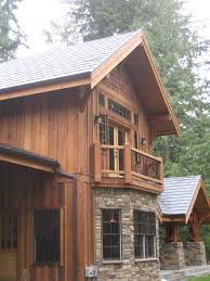 100 Cedar Sided Houses Log Cabins Exterior Pictures Exterior Finishes Your Log Homes