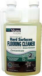 shaw hard surfaces green r2x flooring cleaner concentrate 32oz