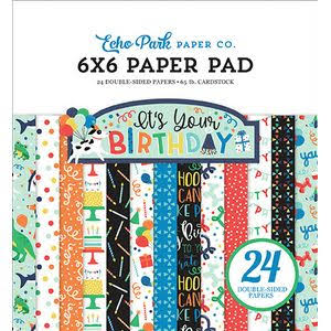 Echo Park It's Your Birthday Boy Paper Pad