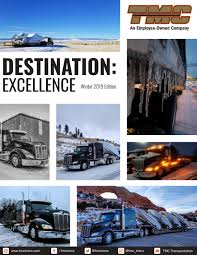 100 Tmc Trucking Training Destination Excellence Winter 2019 Edition By TMC Transportation