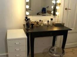 Vanity Desk Mirror Ikea Lighted Makeup With – mirror