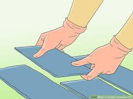 how to install travertine tile with pictures wikihow
