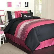 Pink And Black forter Sets Interior Decorating