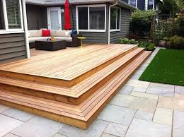 Wood Deck Design Amazing Outdoor Decks And Patios Plans