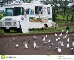 100 Seabirds Food Truck White In Maui Hawaii Editorial Stock Image