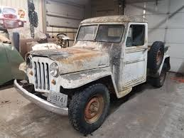 100 Willys Jeep Truck For Sale 1952 For ClassicCarscom CC1185358