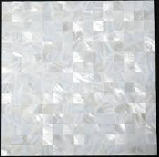 of pearl sea shell mosaic kitchen backsplash tile mop006