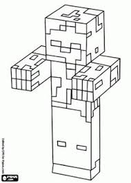 Minecraft Cabin In The Woods Coloring Page