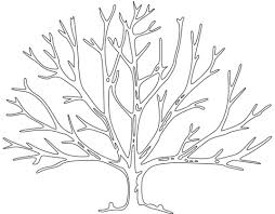 Click To See Printable Version Of Bare Tree Coloring Page