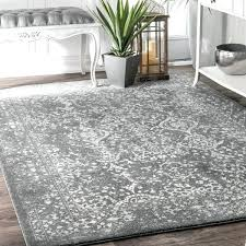 Nuloom Vintage Floral Ornament Silver Area Rug 8 X 10 Free 8x10 Walmart Rugs